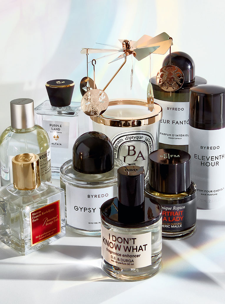 Sought-after <br>fragrances