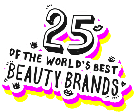 25 OF THE WORLD'S BEST BEAUTY BRANDS